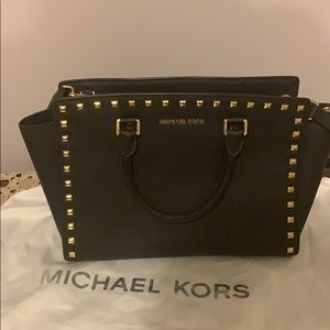 Pre owned Micheal kora studded handbag